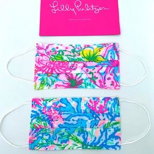 Lilly Pulitzer Adult mask—set of two